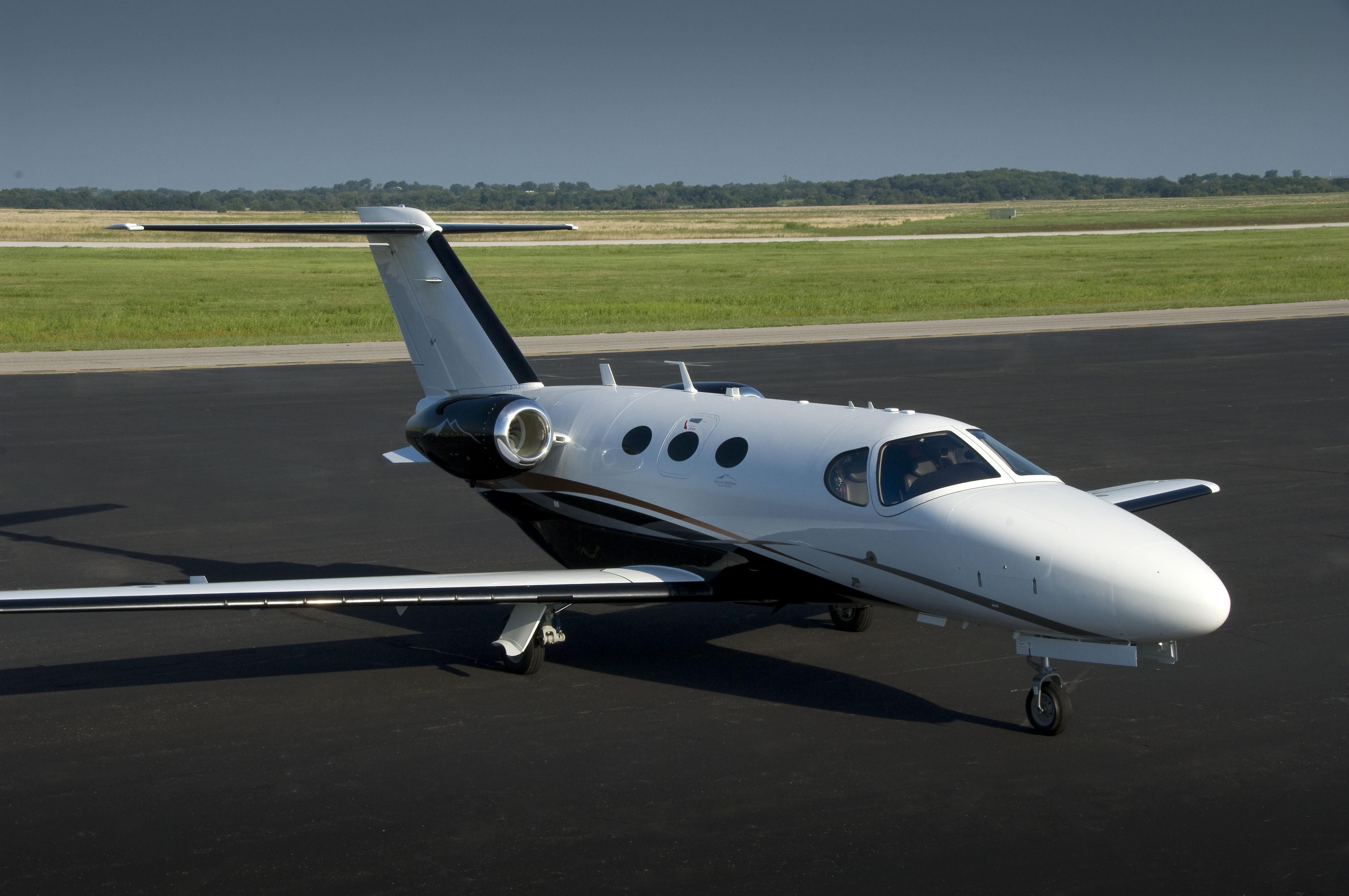 Cessna Citation Mustang юниджет комфорт и время